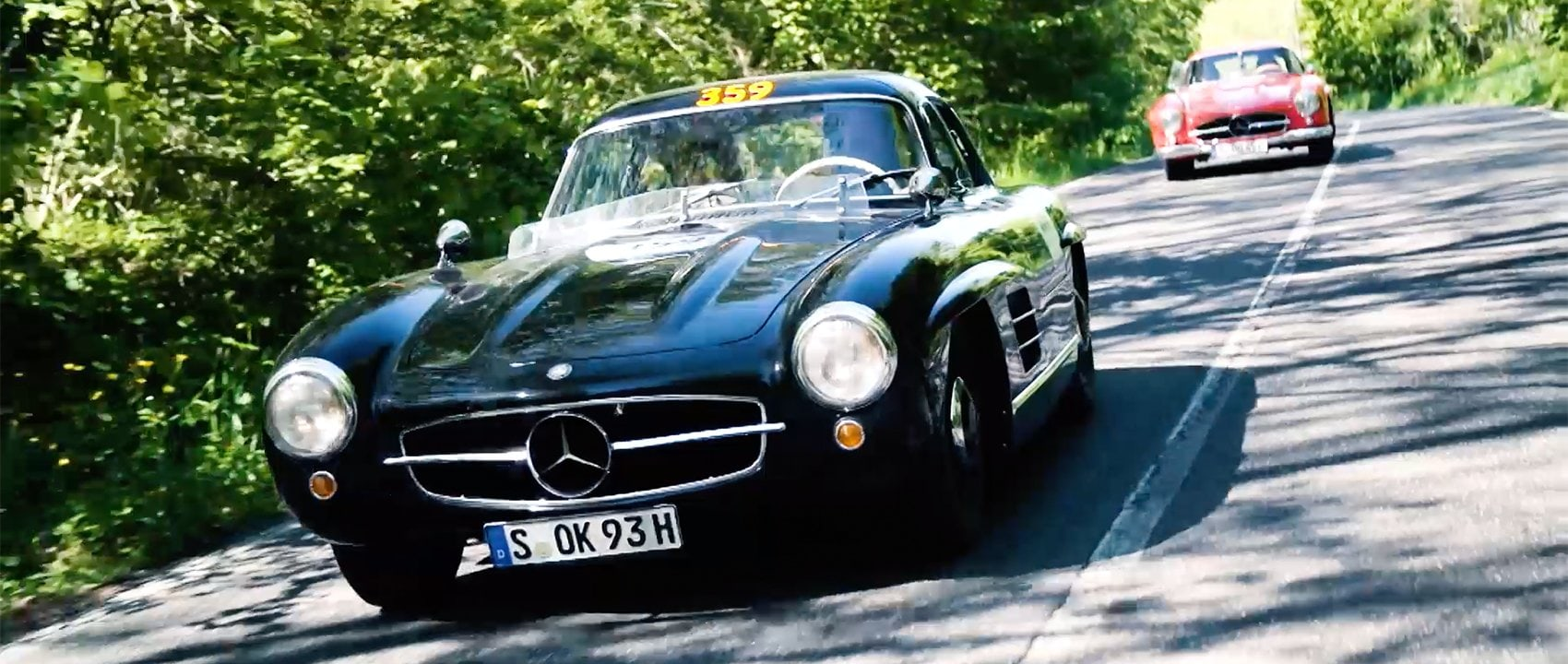 Mercedes-Benz 300 SL at Mille Miglia 2019
