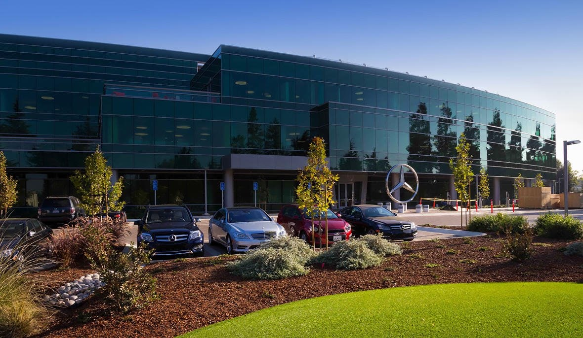 Das Mercedes-Benz Advanced Design Center in Sunnyvale ist Teil von Mercedes-Benz Research & Development North America, Inc.
