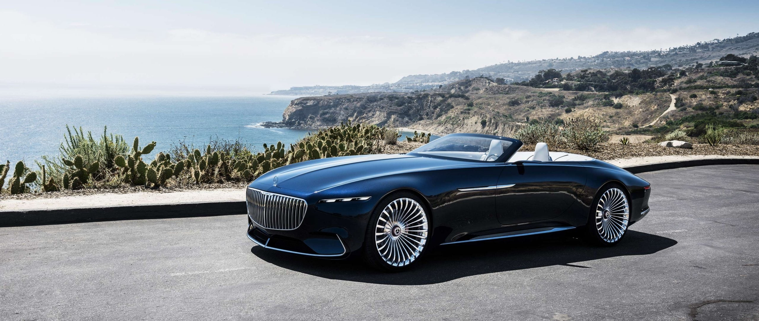 Luxuriöse Offenbarung: Vision Mercedes-Maybach 6 Cabriolet. Sinnlich-emotionales Design und innovative technische Konzeptlösungen für den ultimativen Luxus der Zukunft.