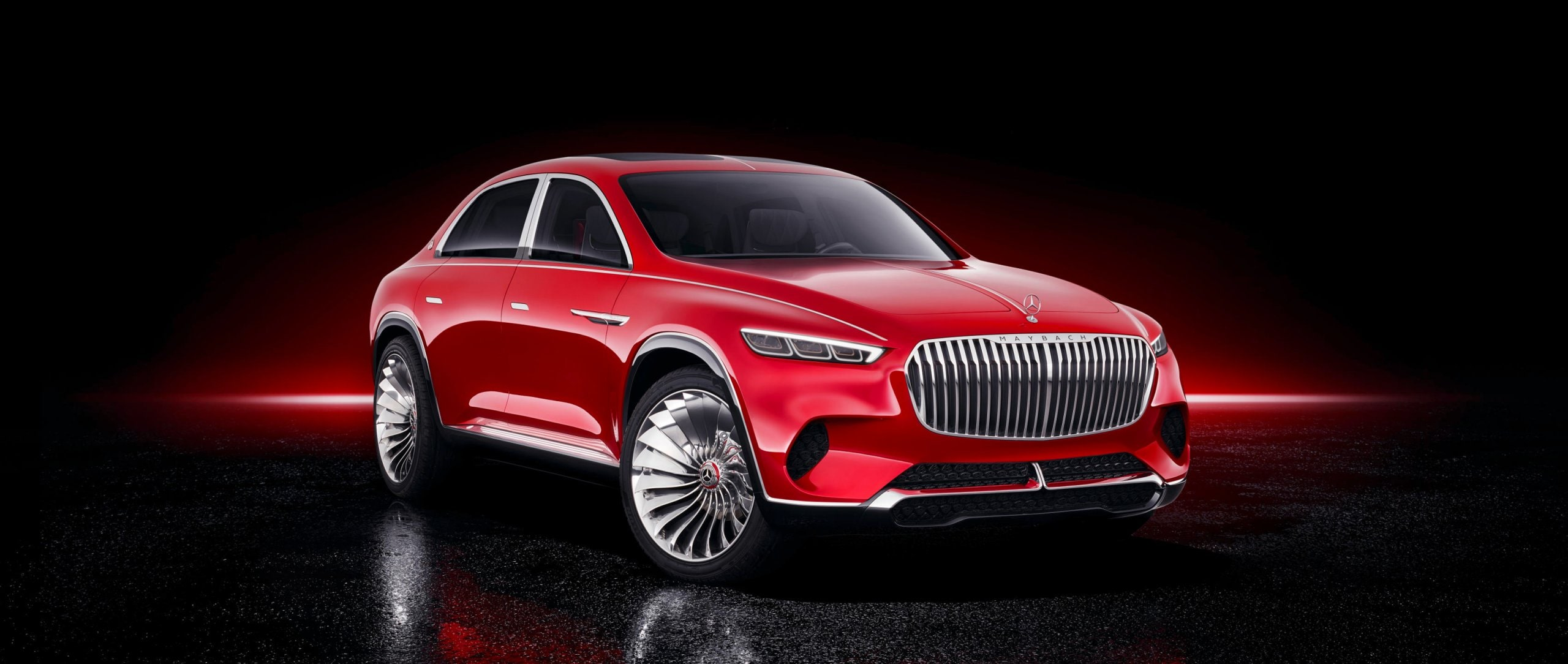 Entwurf des Vision Mercedes-Maybach Ultimate Luxury 2018.