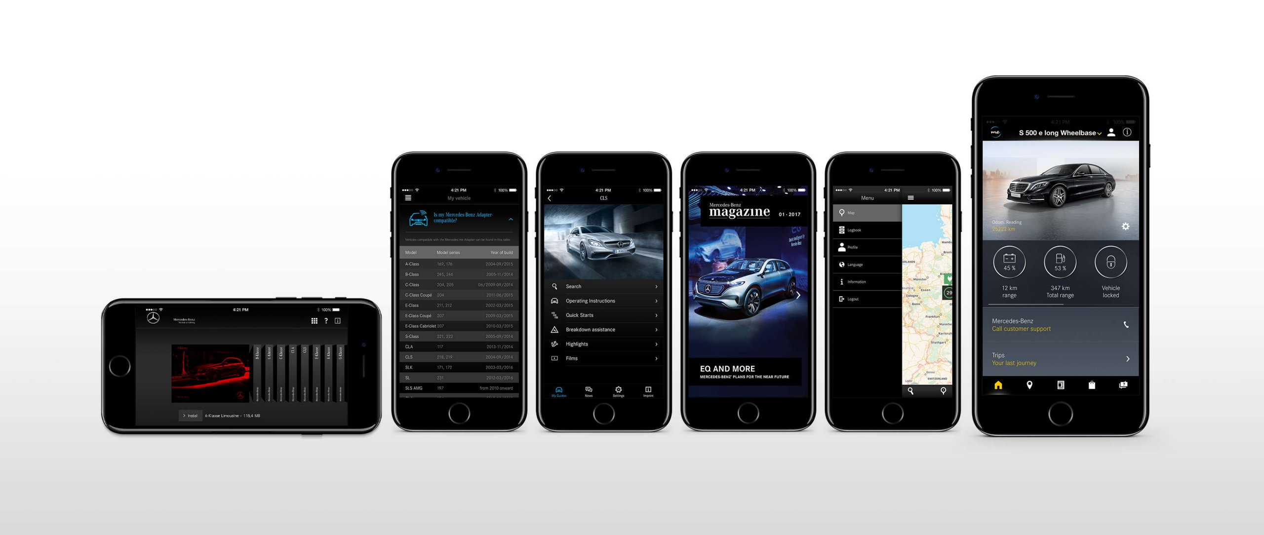 Mercedes-Benz Apps.
