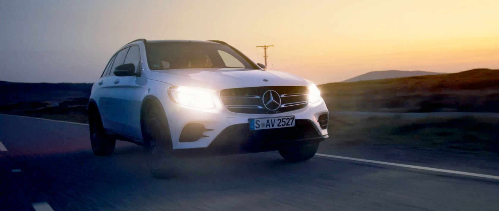 Mercedes-Benz – #MBvideocar: Der Mercedes-Benz GLC 250 d 4MATIC (X 253) in Schottland.