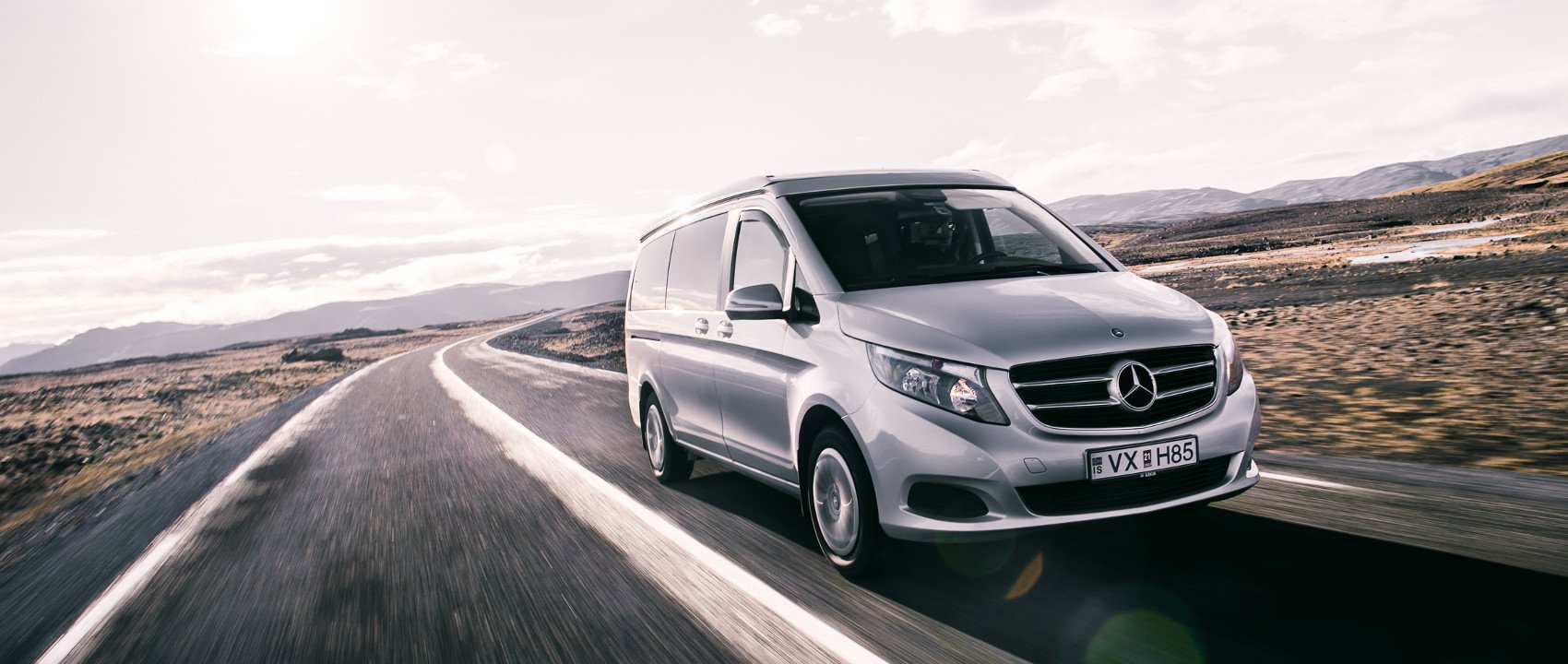 Mercedes-Benz #MBvideocar: Marco Polo auf Island.