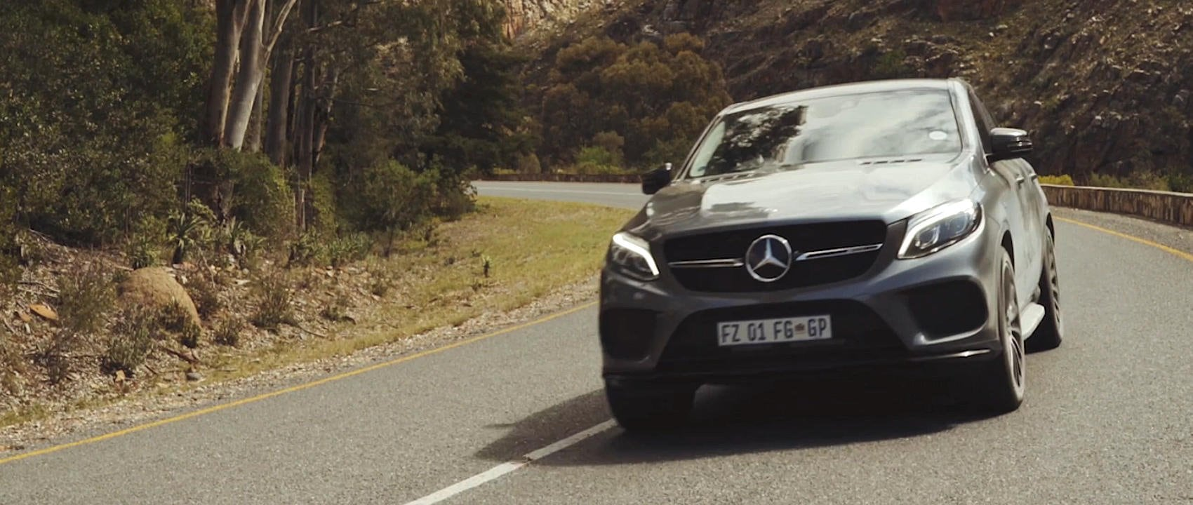 #MBvideocar: Mercedes-AMG GLE 43 4MATIC Coupé in Südafrika (C 292).