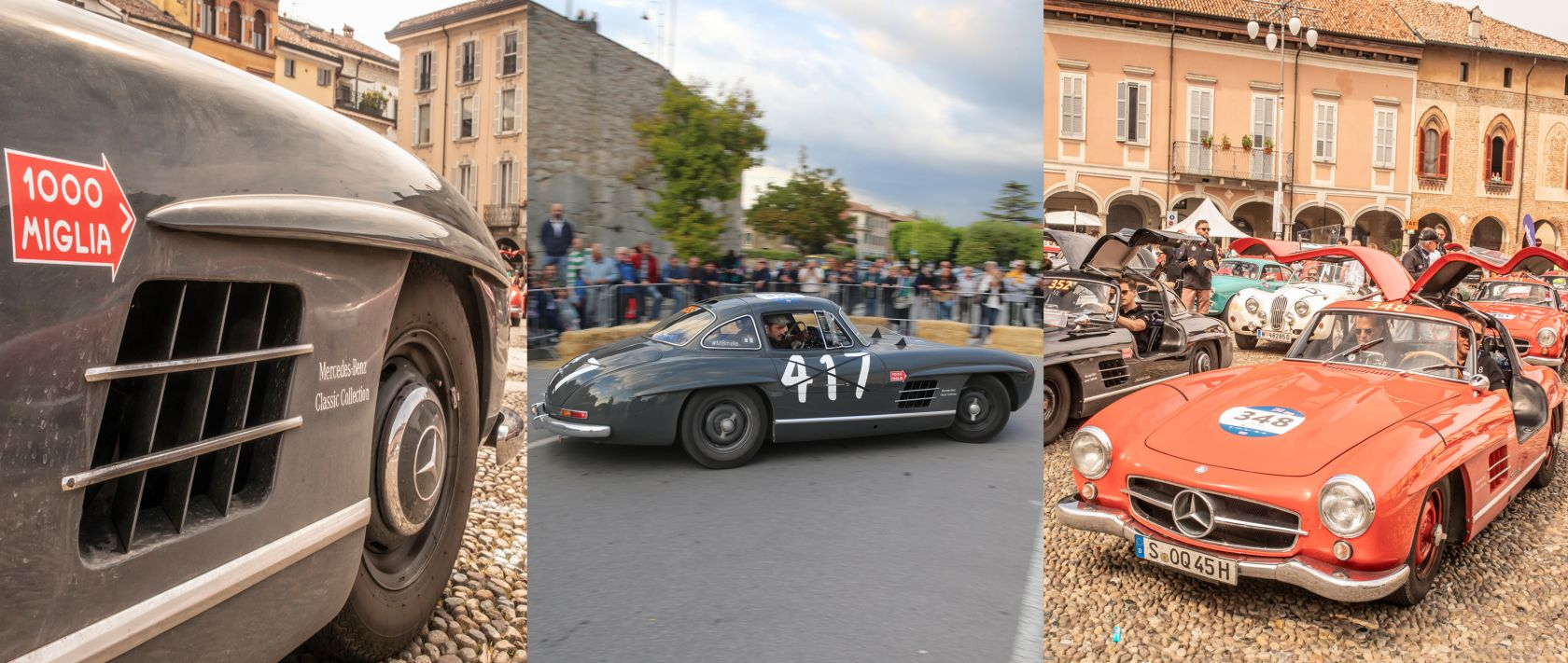 "Mercedes-Benz 300 SL ""Gullwing"" at the 1000 Miglia 2018."