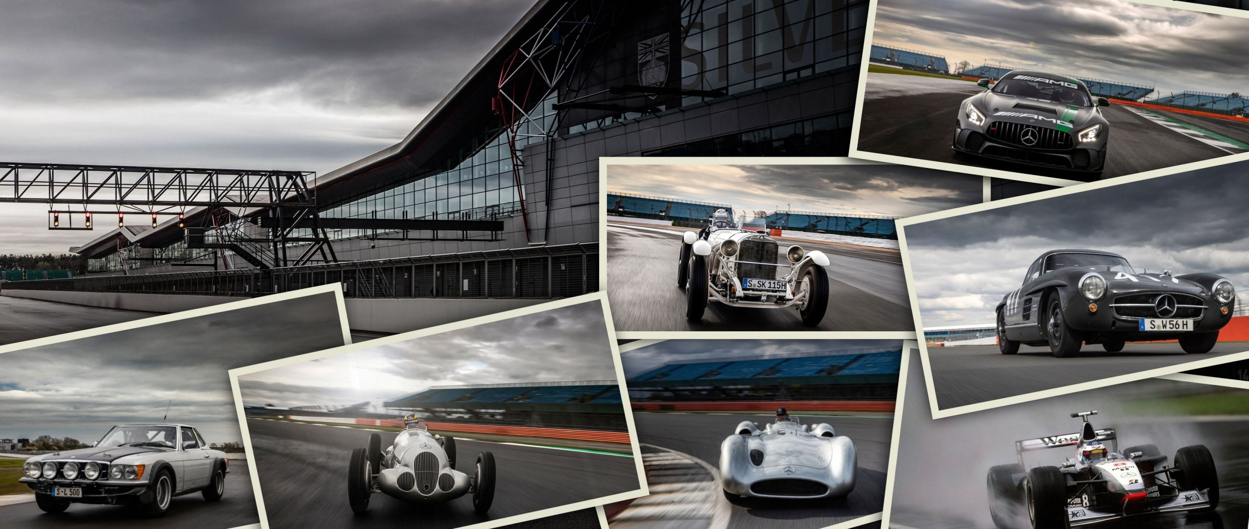 125 Years of Motorsport at Mercedes-Benz: Meeting of the generations.
