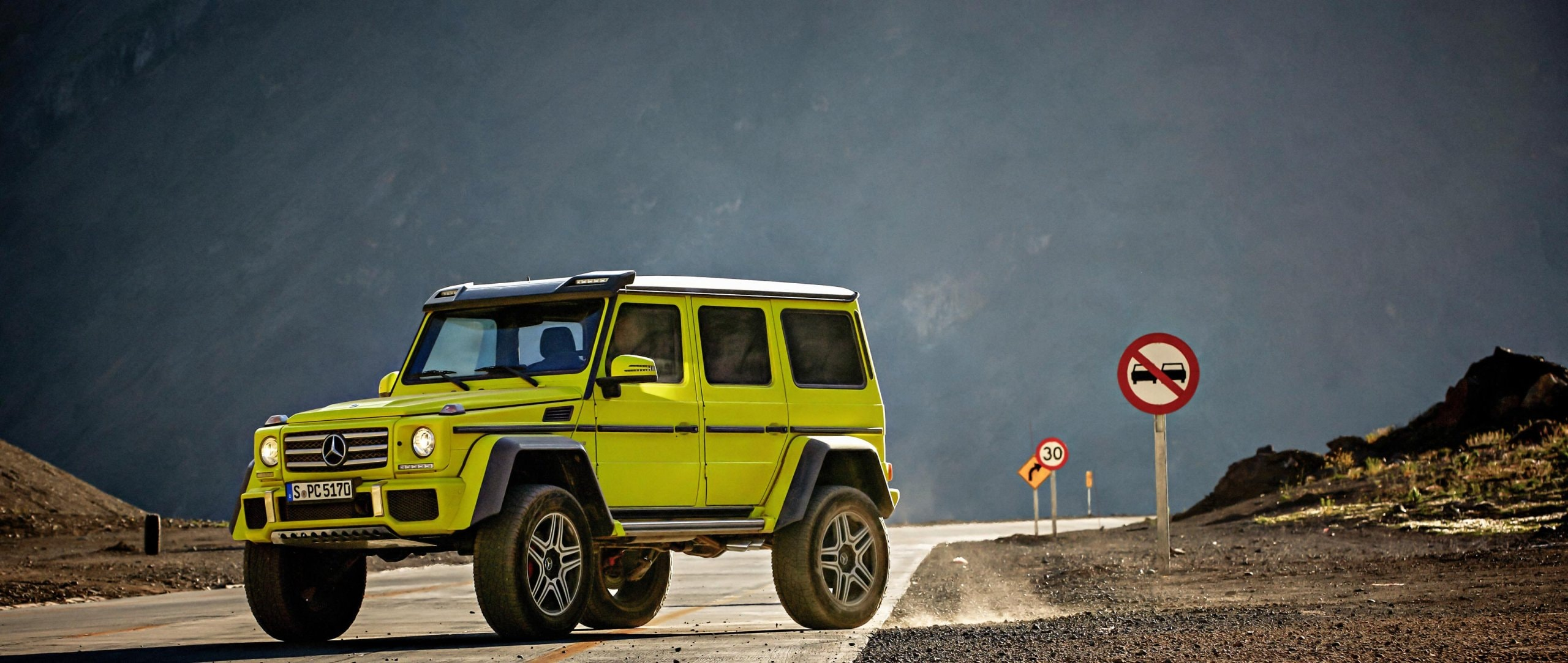 Fascination of the Mercedes-Benz G-Class.