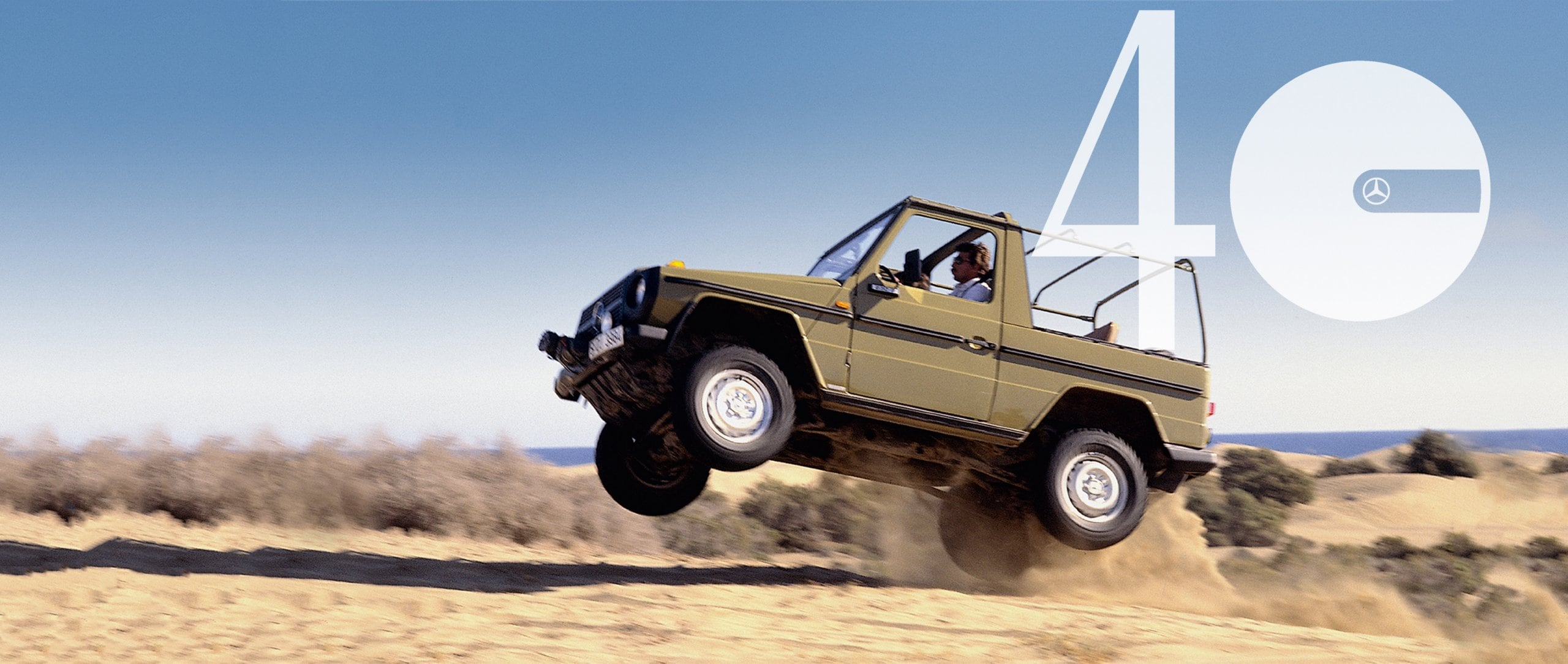 Die Mercedes-Benz G-Class is celebrating its 40th birthday.