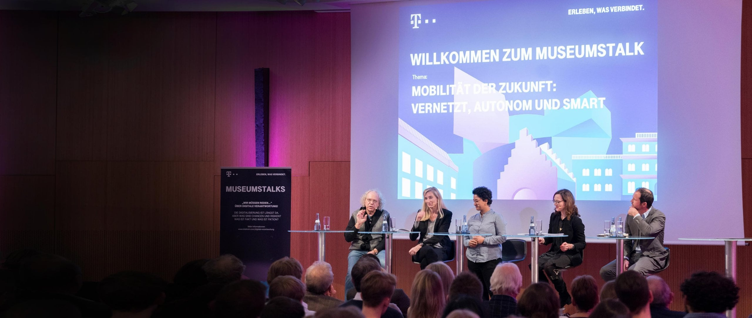 Museum talk: Panel discussion on Mobility of the Future.
