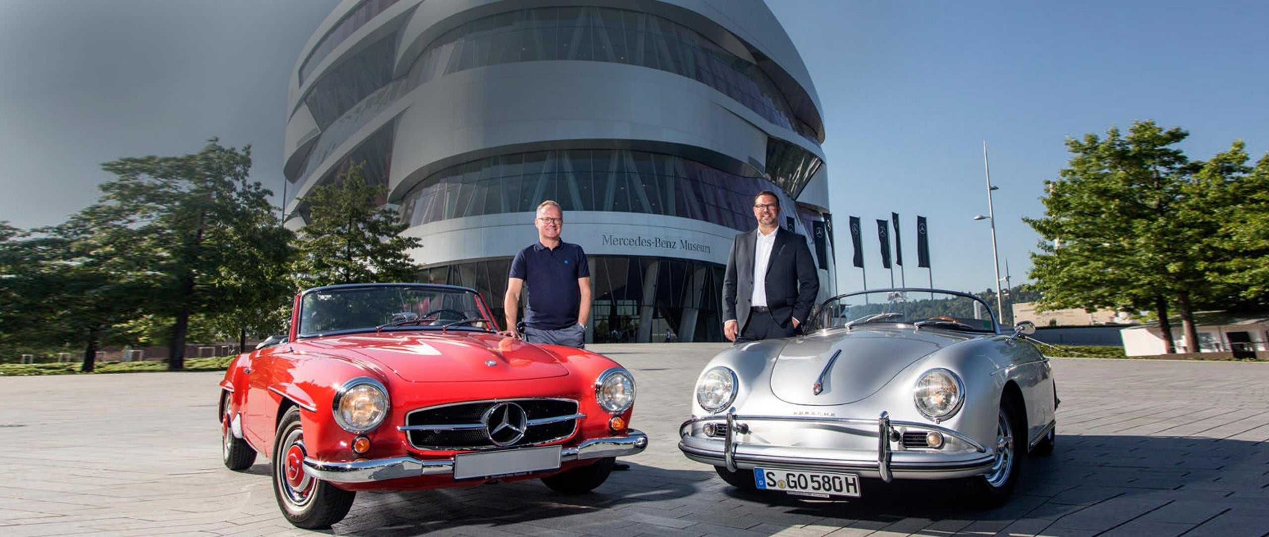 Discounted entry to the Mercedes-Benz Museum for Porsche Museum ticket holders.