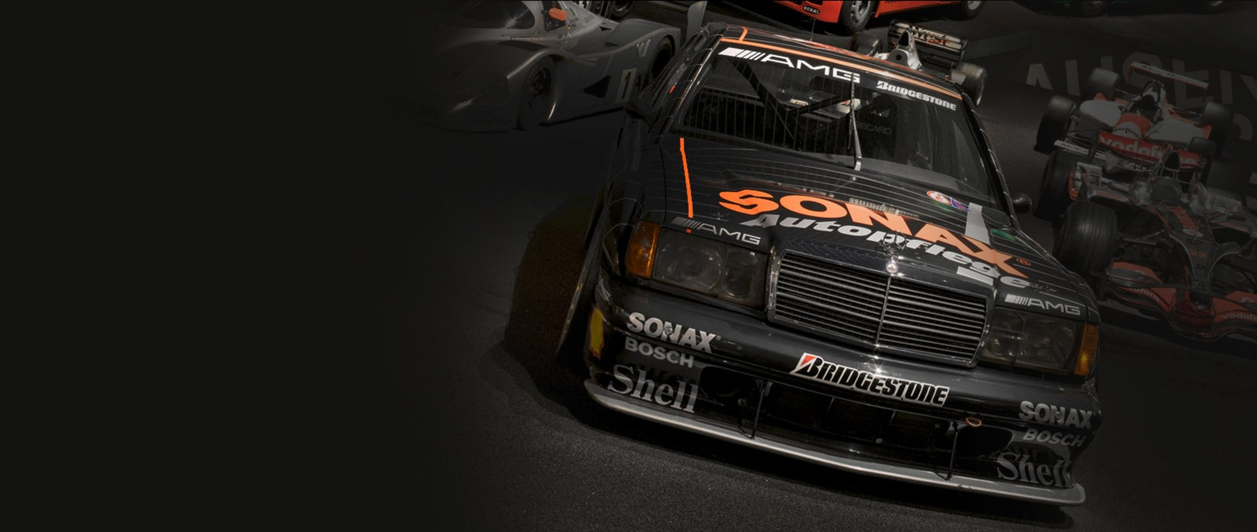 AMG-Mercedes 190 E 2.5-16 Evolution II DTM touring car.