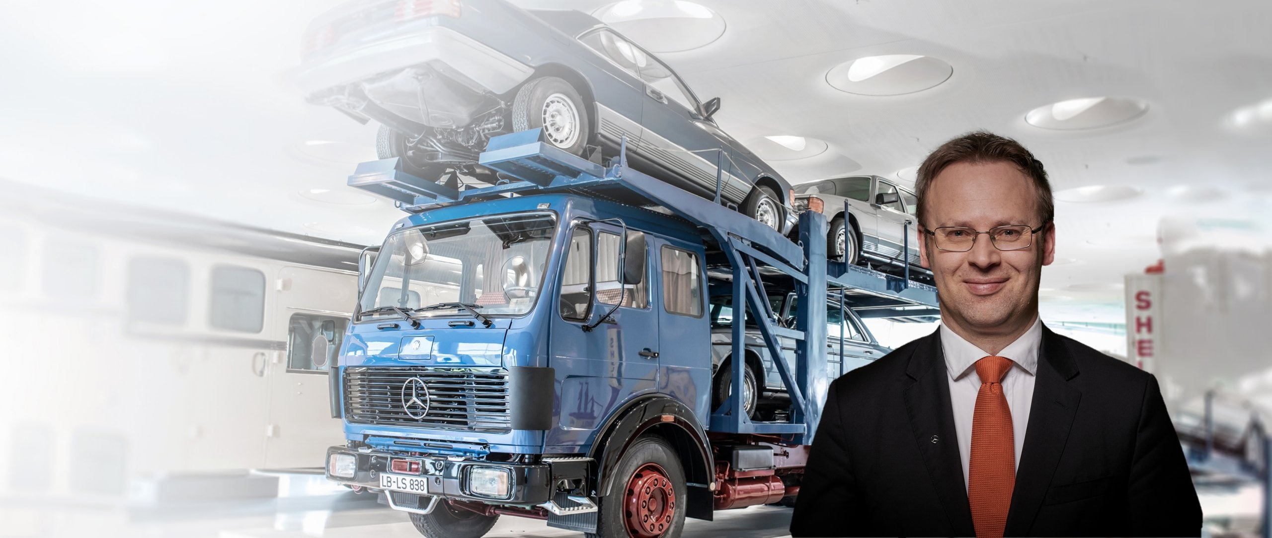 Discover the history of Mercedes-Benz commercial vehicles.
