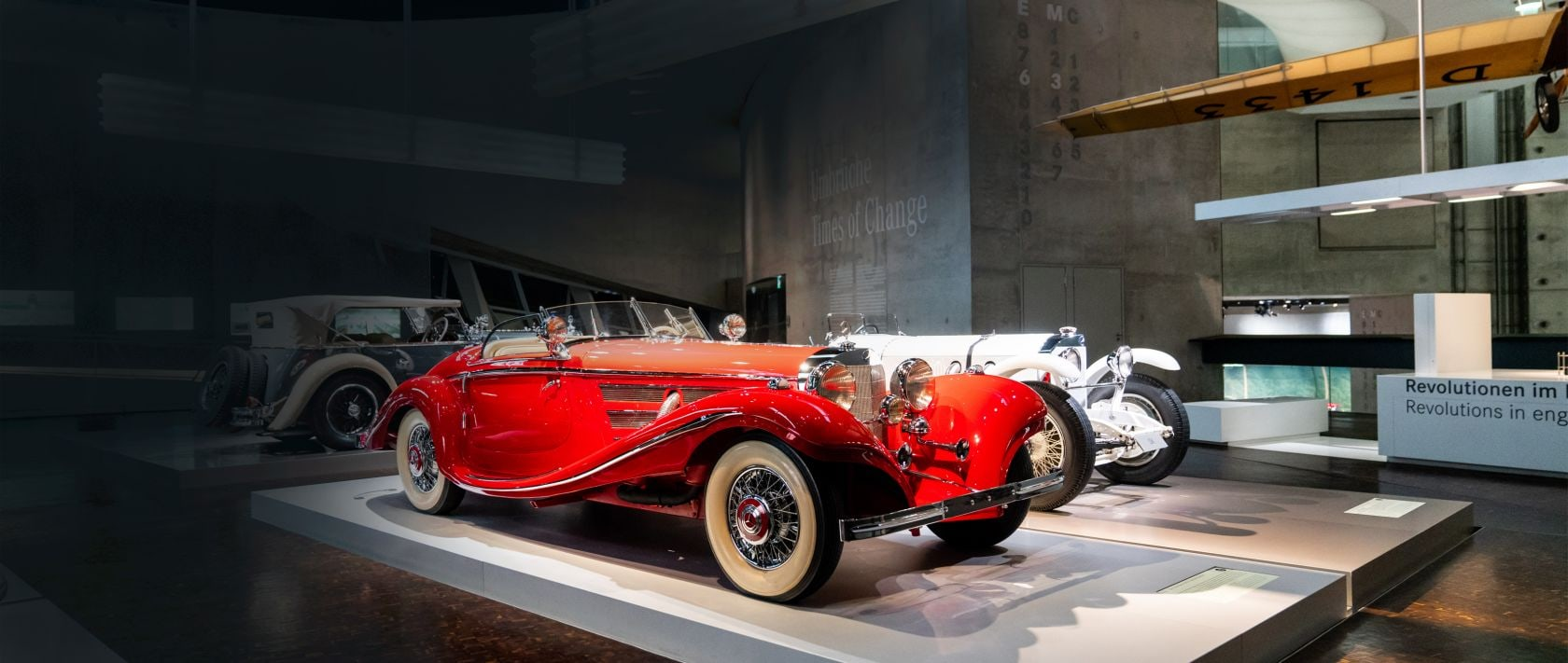 Mercedes-Benz 500 K special roadster.
