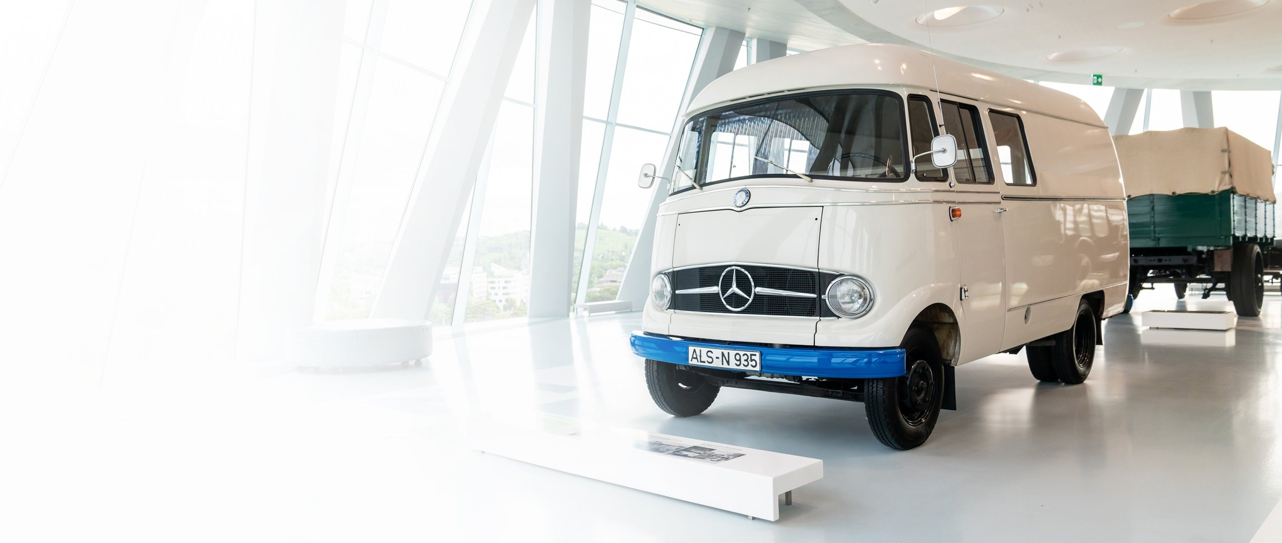 Mercedes-Benz L 406 panel van.