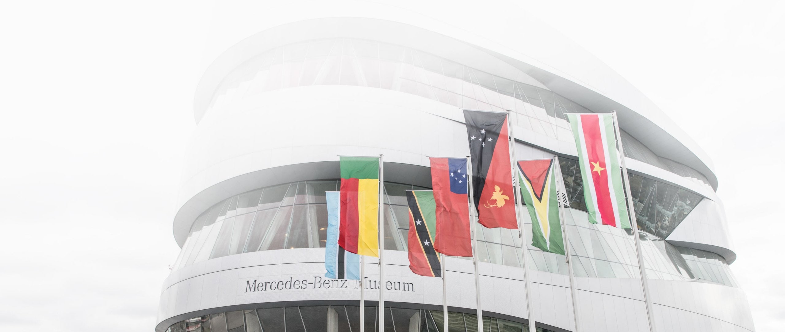 Since February 2017 the Mercedes-Benz Museum had been running a campaign specifically aimed at visitors from the seven countries which were not yet represented in the official visitor statistics.