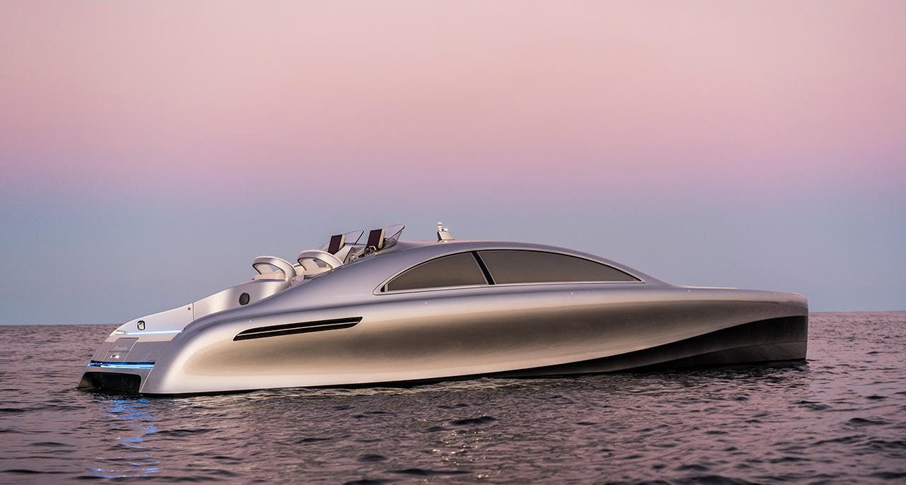 """With the yacht and the aircraft cabin we have transferred our philosophy of Sensual Purity to the ship and aircraft design,"" says Gorden Wagener, Head of Design of Daimler AG."