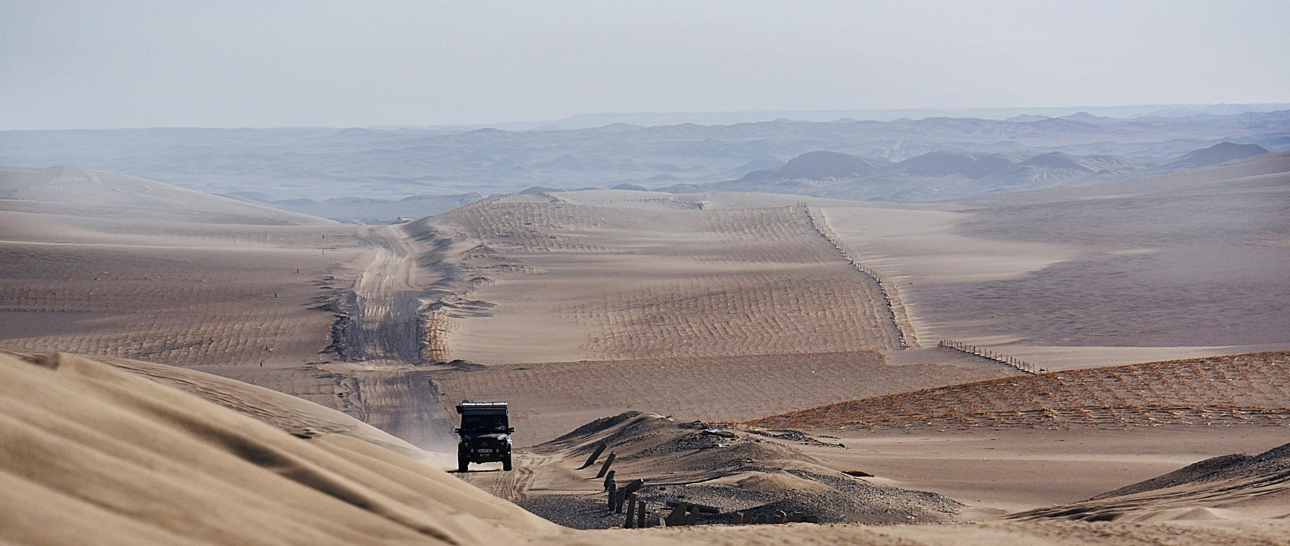 "Mercedes-Benz Driving Events ""Five-Day Dune Drive"" Training."