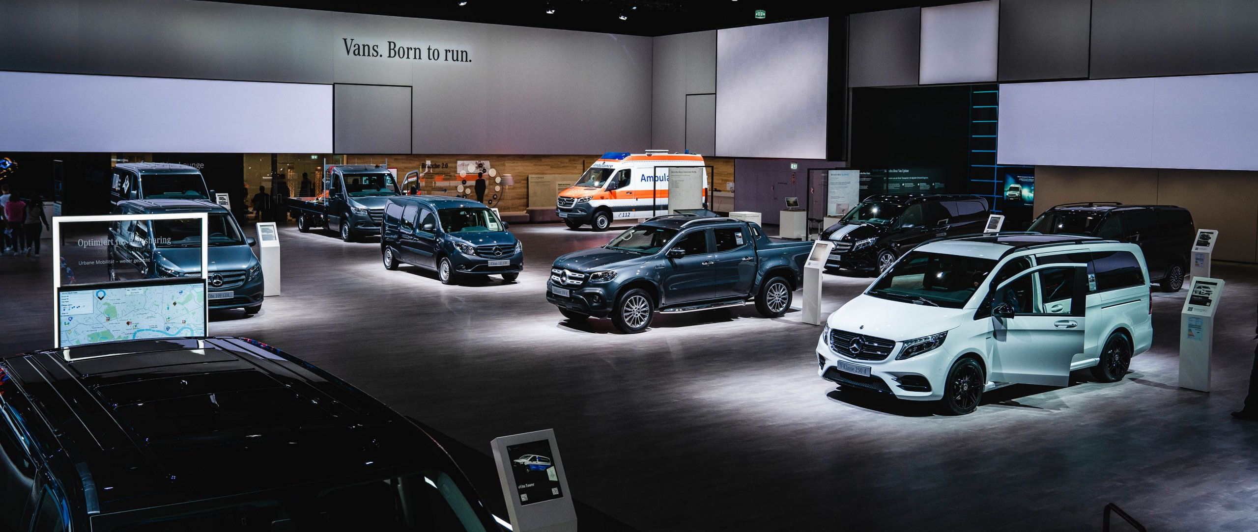 Mercedes-Benz Vans at the IAA Commercial Vehicle 2018