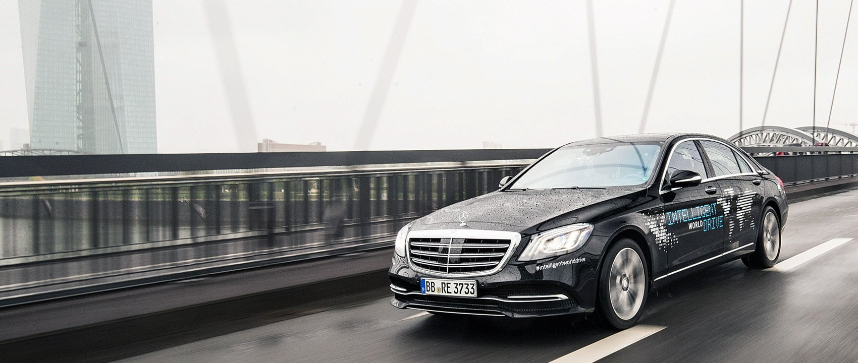 "With the ""Intelligent World Drive"", Mercedes-Benz is testing automated driving functions on all five continents using a vehicle based on the S‑Class (V 222 MoPf)."