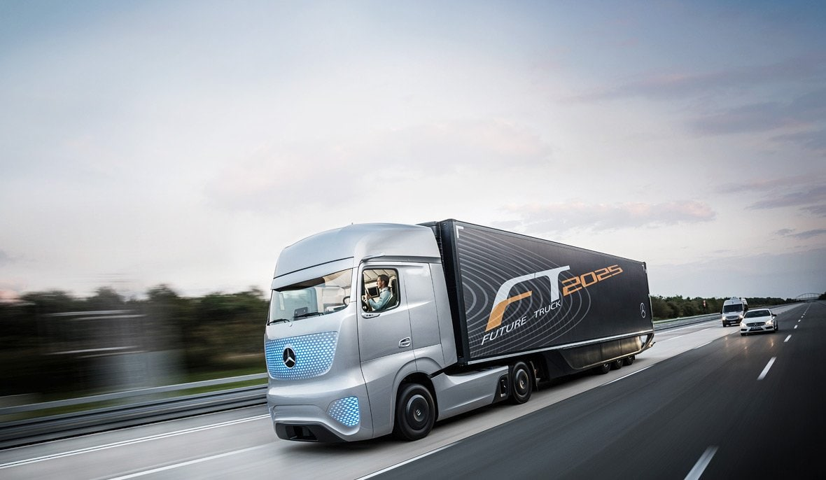 The Future Truck 2025 sets new design standards.