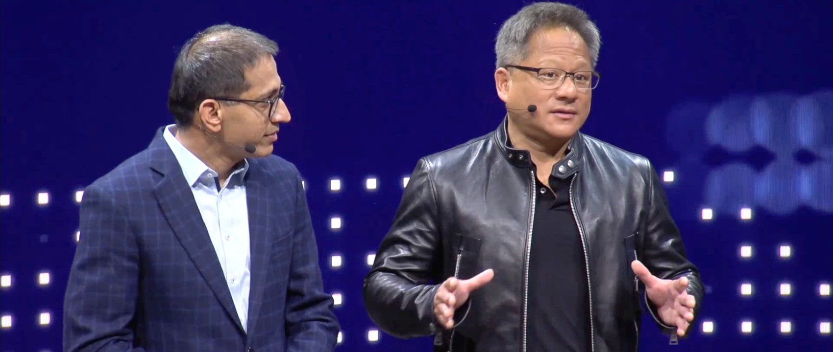 CES 2019 with Sajjad Khan, Member of the Divisional Board of Mercedes-Benz Cars, Head of CASE at Daimler AG, and Jensen Huang, Co-Founder, President & CEO at NVIDIA.