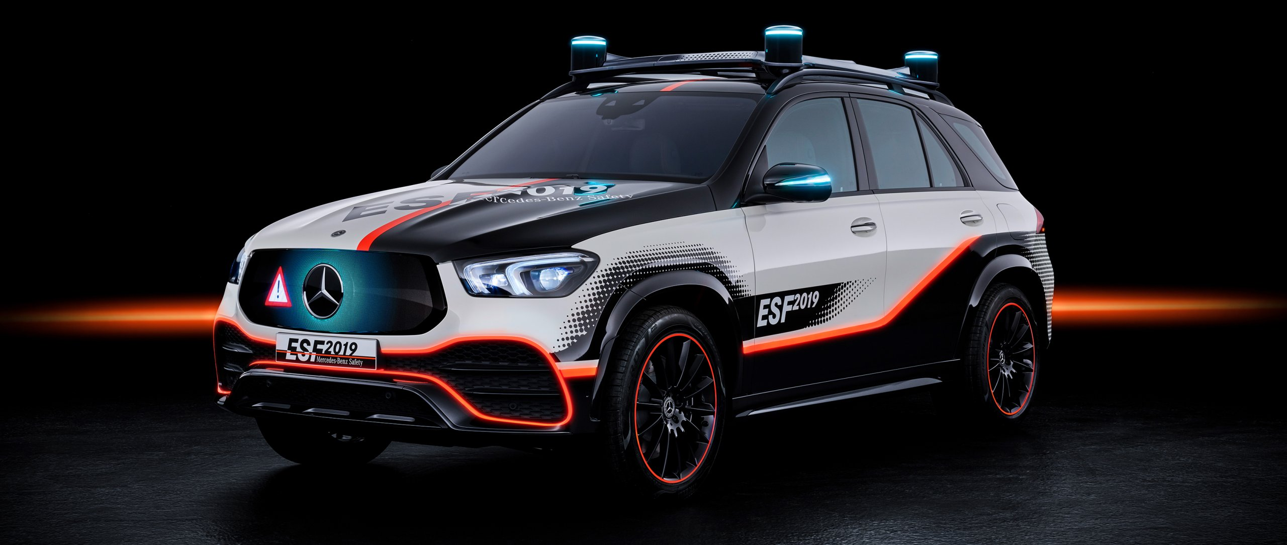 The Mercedes-Benz ESF (2019).