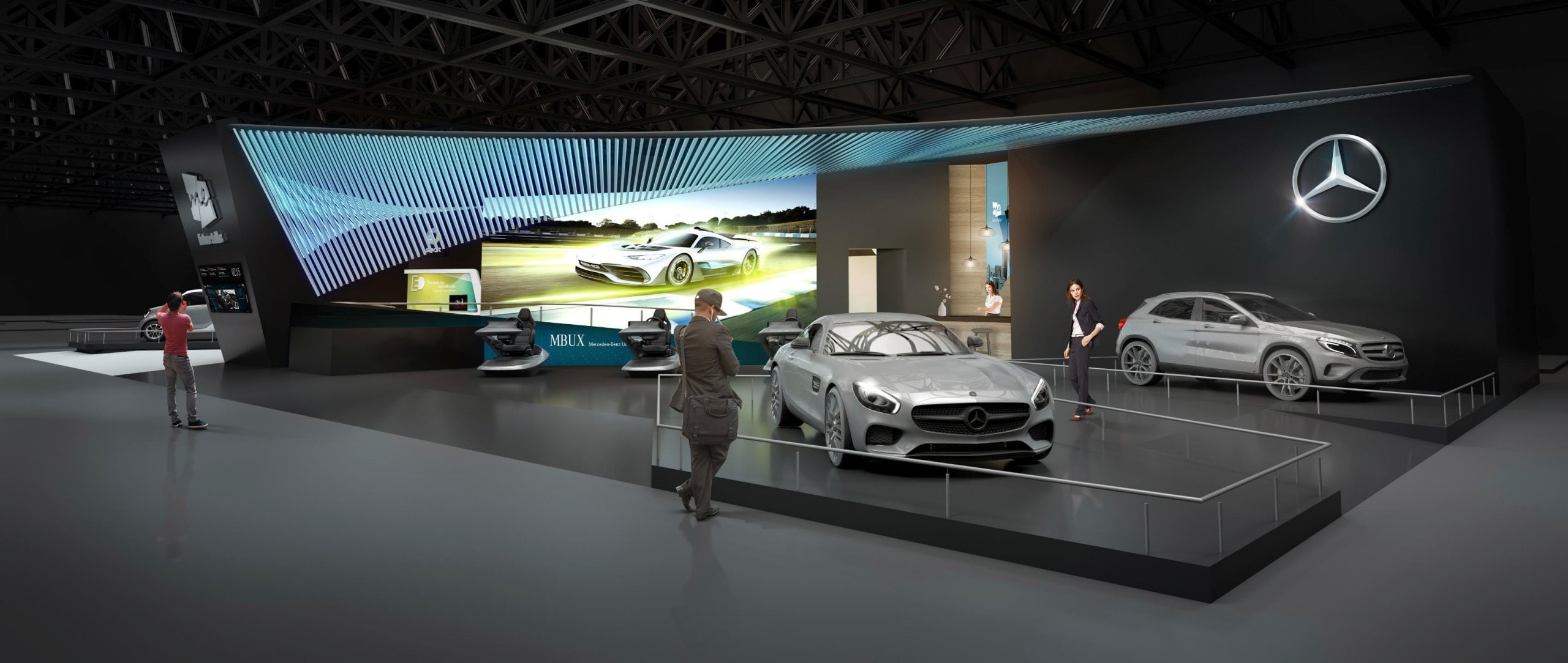 Mercedes-Benz CES 2018: World premiere of the new Mercedes-Benz User Experience.