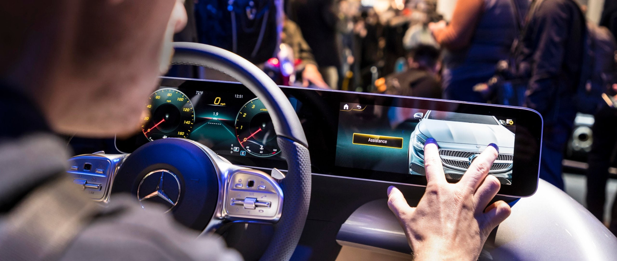 Mercedes-Benz User Experience (MBUX).