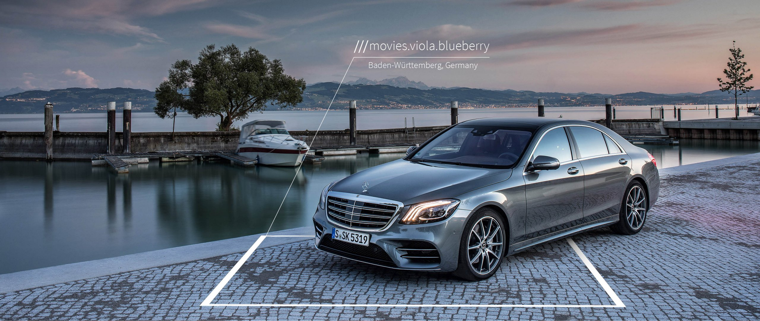 what3words voice navigation – first to Mercedes-Benz.