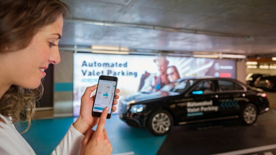 Bosch and Daimler: Automated valet parking.