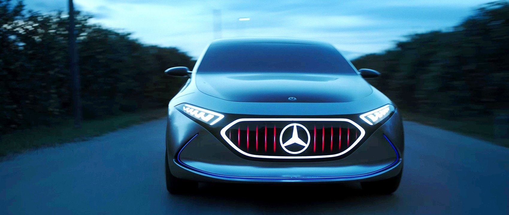 The Mercedes-Benz Concept EQA in Sicily.