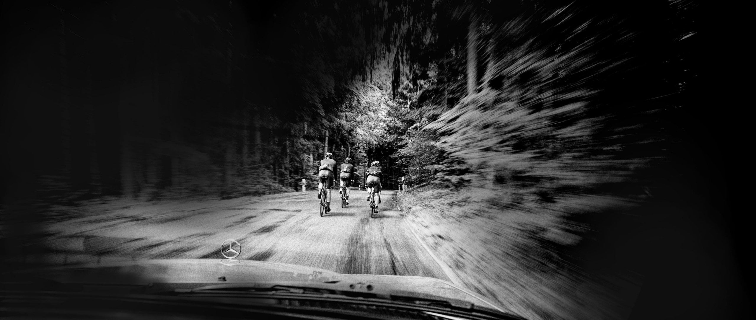 Cool temperatures and damp weather should not frighten cyclists.