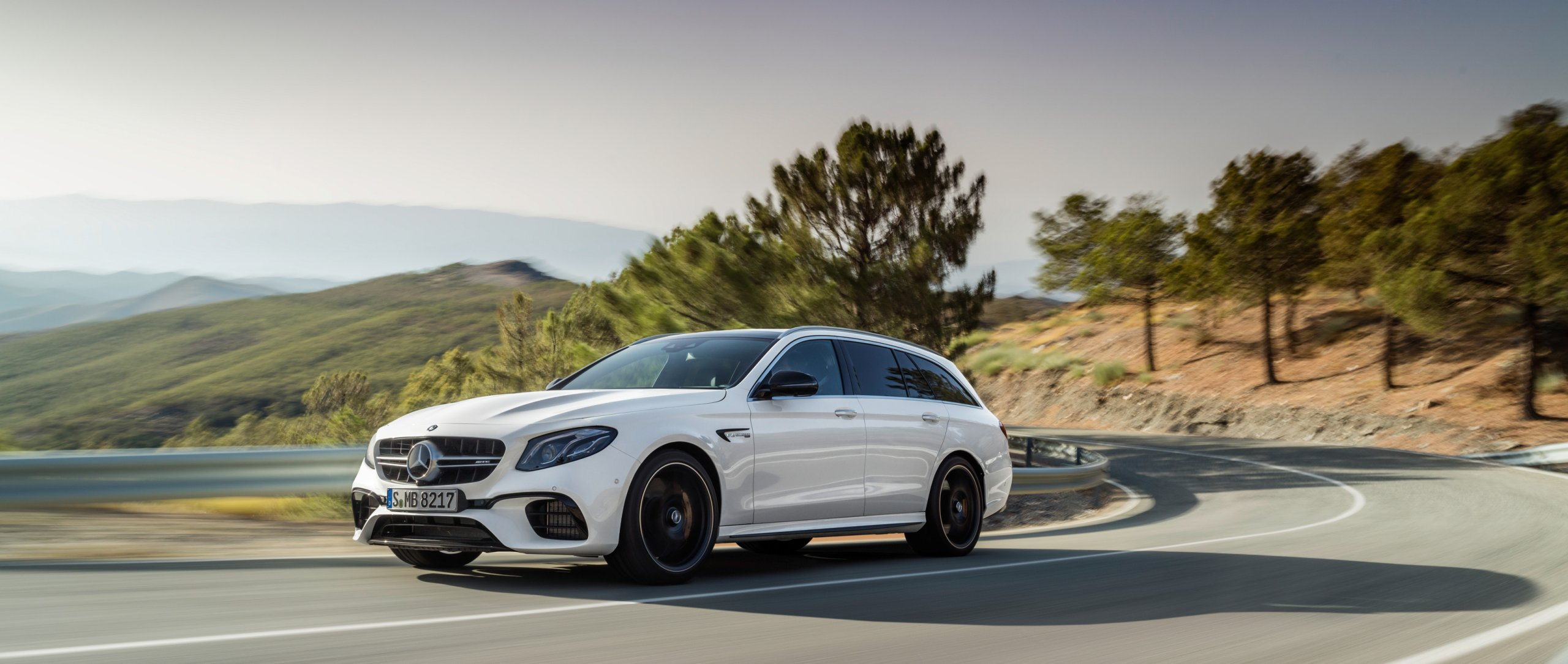 Mercedes-AMG E 63 4MATIC+ Estate.