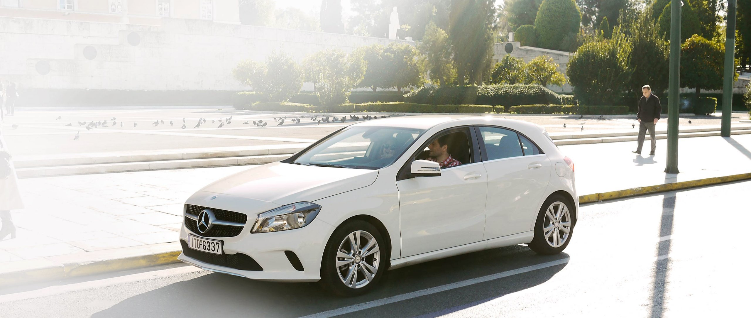 He says, She says – An Athens road trip in an A-Class.