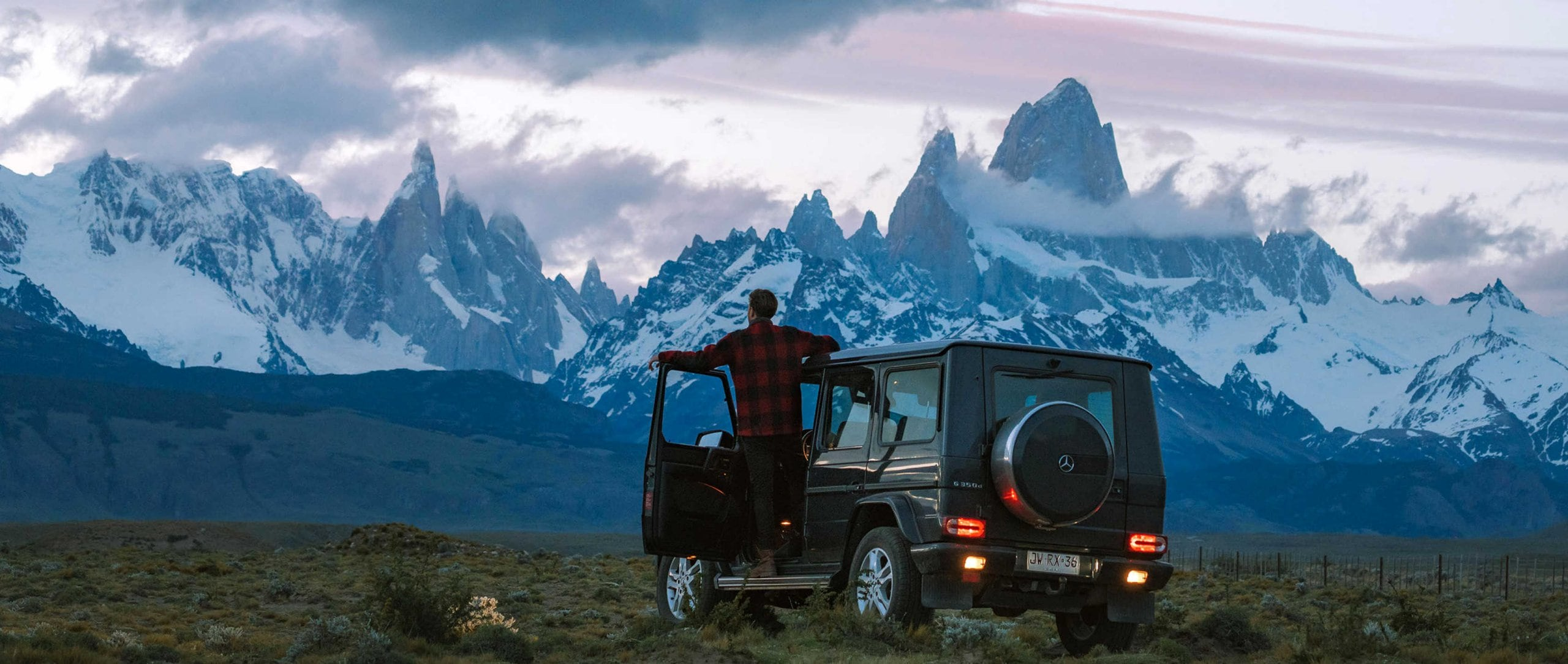 He says, she says: Mercedes-Benz G-Class (W 463) – In a G-Class, Emilie Ristevski and Jason Charles Hill explore Patagonia's beautiful landscapes.