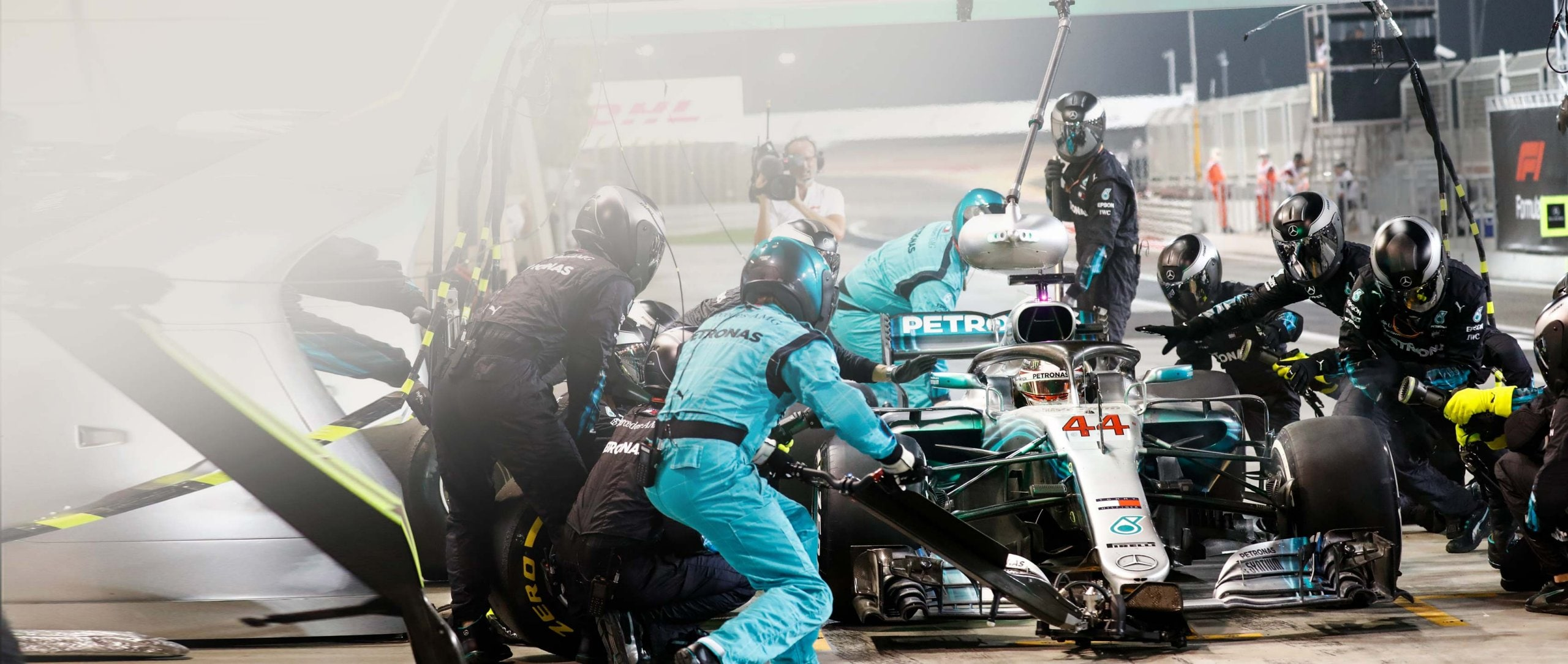 In Formula 1, every millisecond counts: it's not just the pit where everything has to come together perfectly.