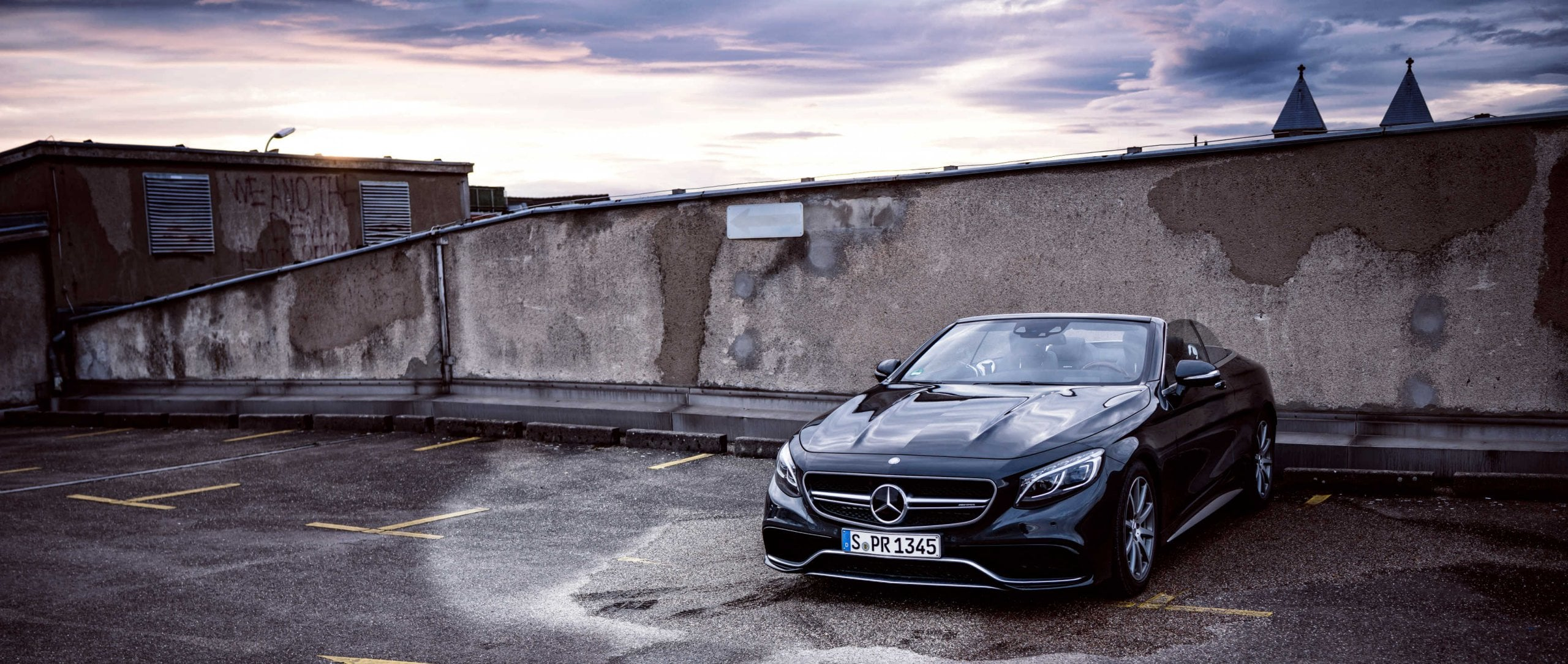Mercedes-AMG S 63 Cabriolet (A 217): Front view.