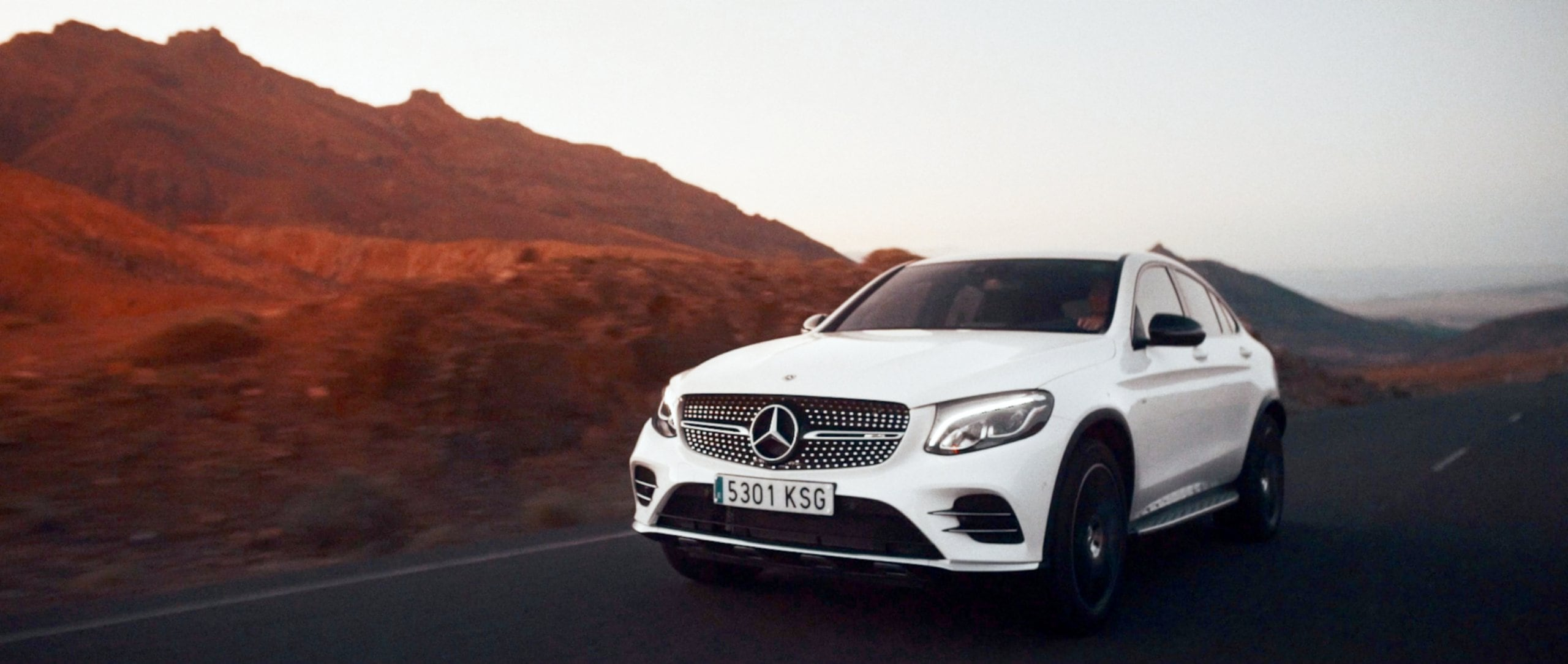 Mercedes-Benz #MBvideocar: The Mercedes-AMG GLC 43 4MATIC Coupé in Spain.