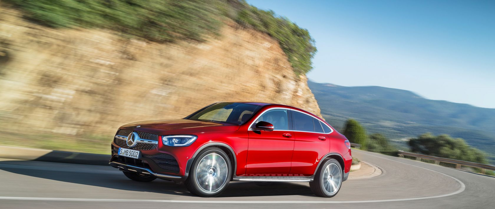 The New Mercedes Benz Glc Coupe 2019