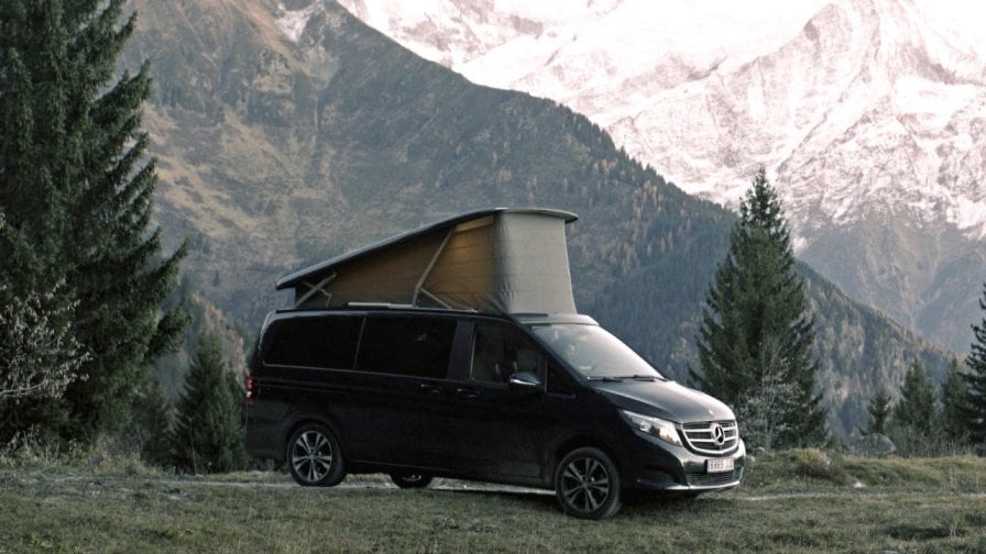 The Mercedes Benz V Class Make Your Move