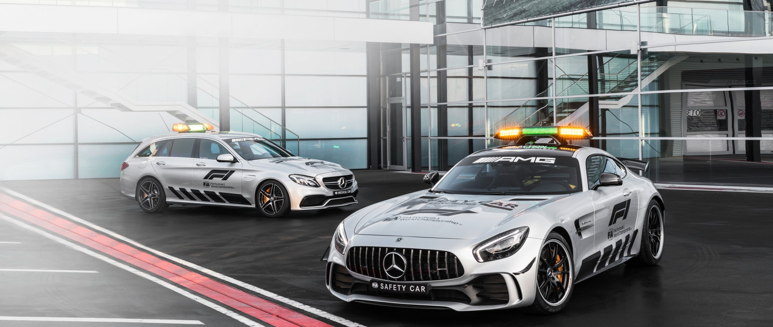 Mercedes-Benz Safety Cars.