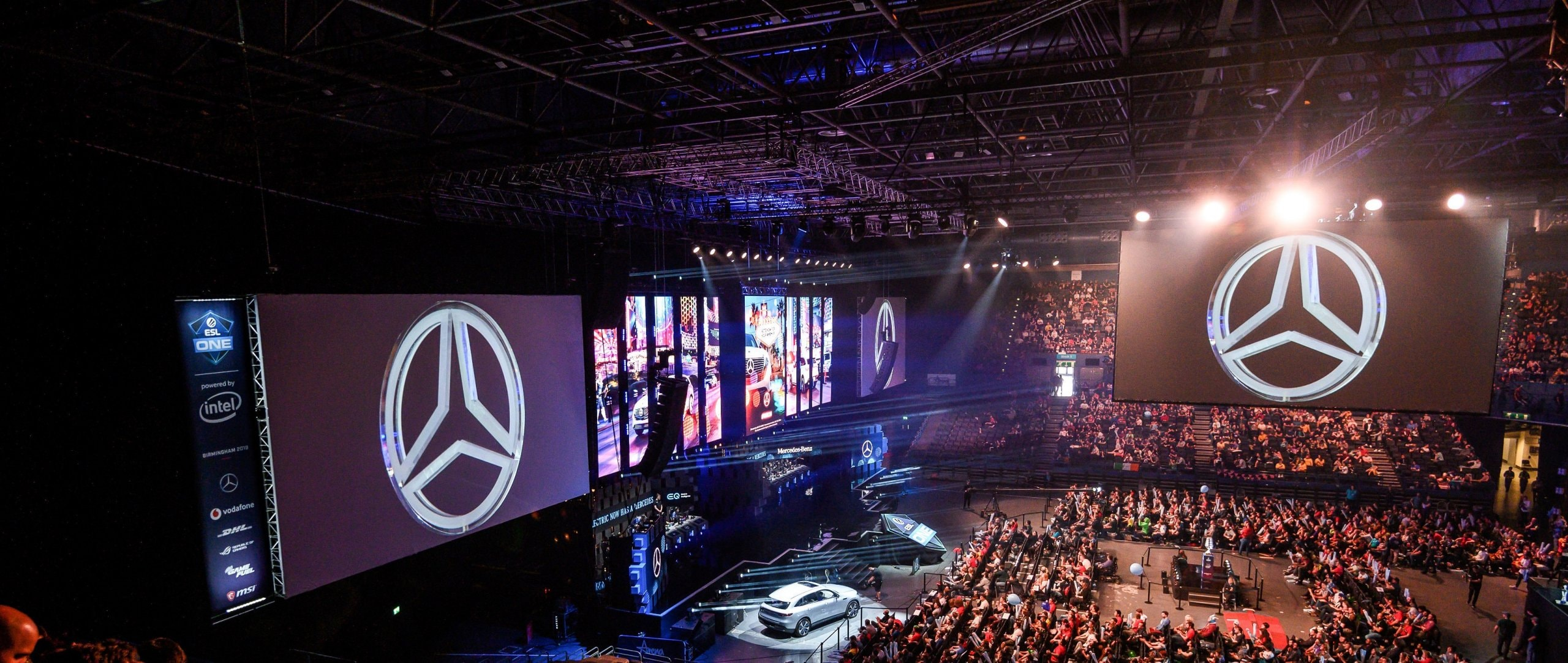 Overview of the ESL One in Birmingham.