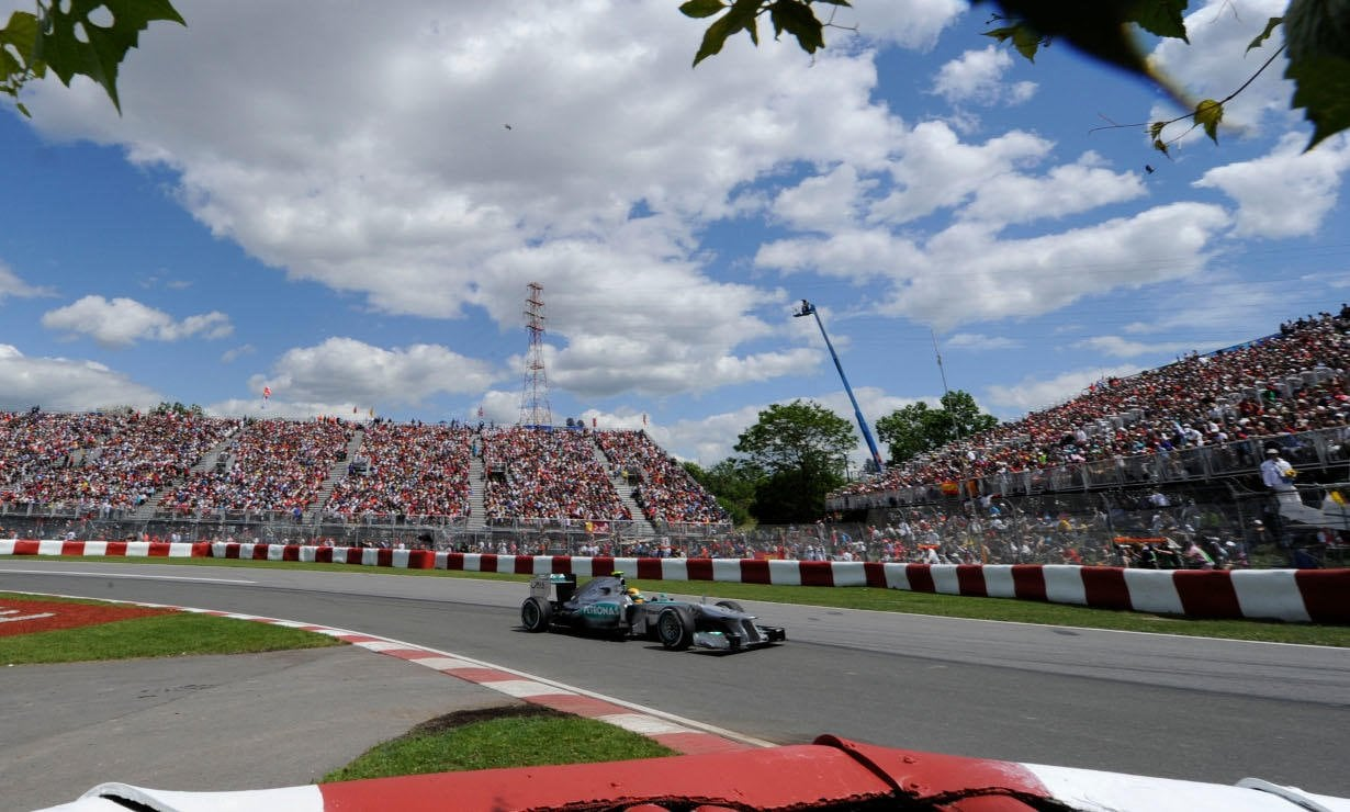 MERCEDES AMG PETRONAS driver Lewis Hamilton finished on the podium at the Canadian Grand Prix.