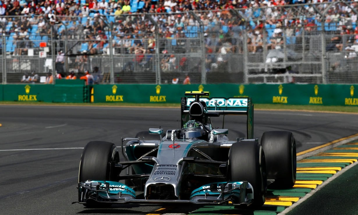 The MERCEDES AMG PETRONAS Formula One Team entered the new era of Formula One with a victory.