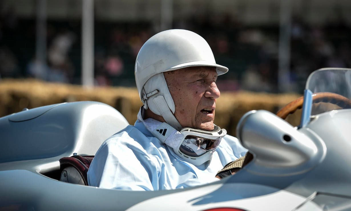 Sir Stirling Moss Turns 85.