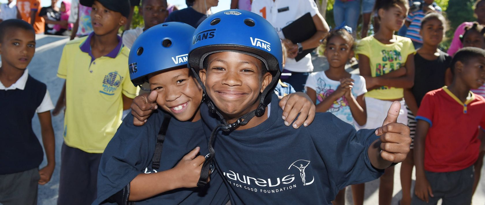 In 2018, nearly 300,000 young people all over the world directly benefited from more than 160 Laureus Sport for Good-supported programmes in 40 countries.