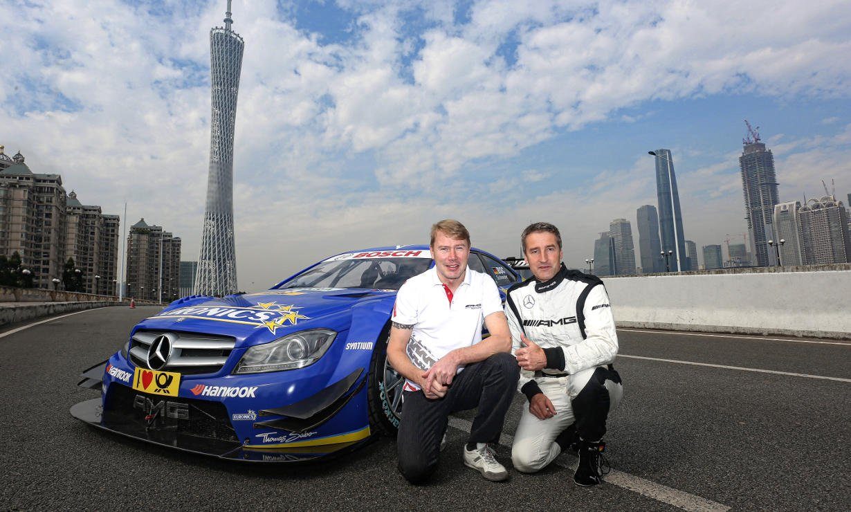 DTM comeback in China from 26th to 28th September 2014.
