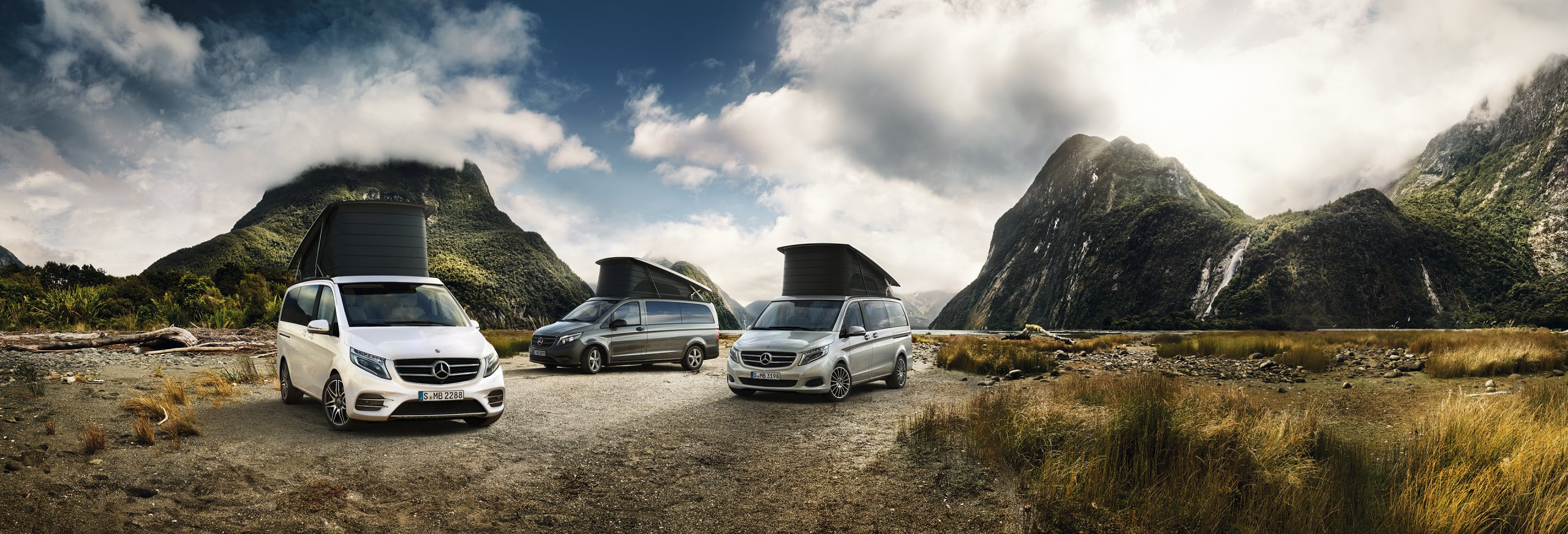 One for everyone: the new Marco Polo range.