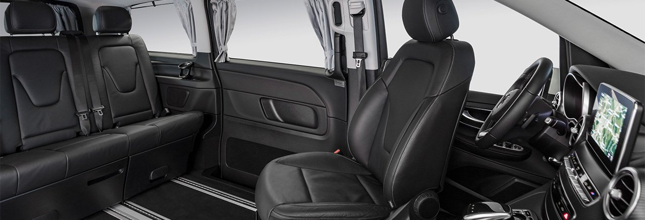 The Marco Polo HORIZON with its flexible interior.
