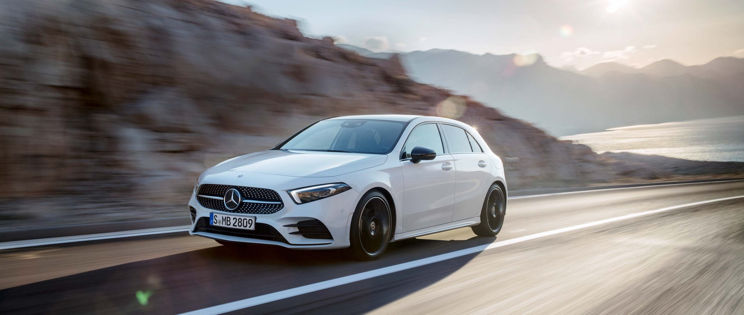 The Mercedes New A Class:  Sports Car Chic in a Family Compact